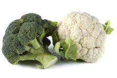 Bróculos da couve-flor foto de stock royalty free
