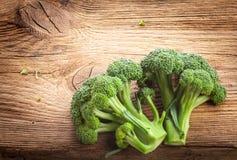 Bróculos frescos foto de stock