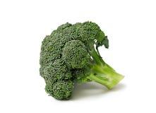 Bróculos isolados Foto de Stock Royalty Free