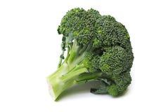 Bróculos isolados Fotografia de Stock Royalty Free