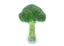 Bróculos isolados Imagens de Stock