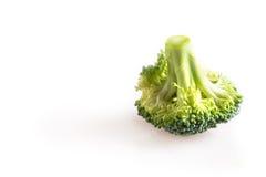 Bróculos isolados no fundo branco foto de stock royalty free
