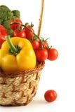 Bróculos, pimenta, e tomates Foto de Stock Royalty Free
