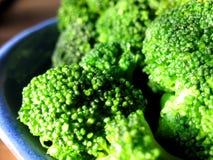 Bróculos saborosos fotografia de stock