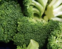 Bróculos verdes Imagens de Stock