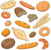 Bröd stock illustrationer