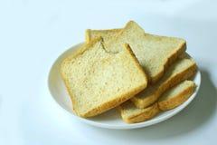 Bröd för helt vete för morgon Arkivfoto