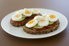 Bröd för lunch arkivbilder