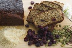 bröd frigör gluten arkivbilder