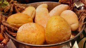 Bröd i korgen 库存照片