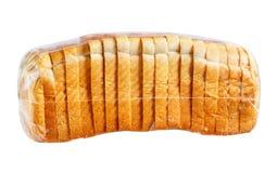 Bröd i plastpåse Arkivbilder