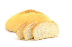 bröd isolerad white Arkivfoto