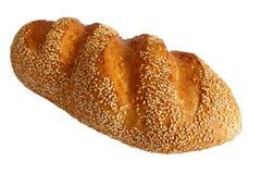 bröd kärnar ur sesam isolerat royaltyfria bilder