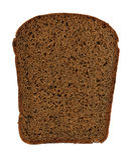 bröd klippt av skiva Arkivbilder