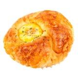 Bröd med ägget Royaltyfria Foton