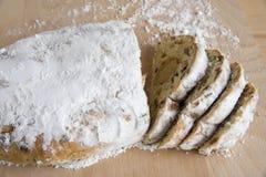Bröd med almondpaste Royaltyfri Bild
