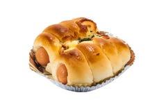 Bröd med korven Royaltyfri Bild