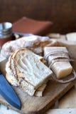 Bröd med parmesanost Royaltyfria Bilder