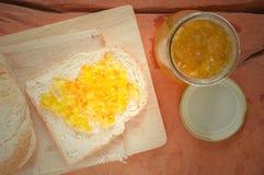 Bröd med sötpotatisen Royaltyfria Foton