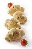 Bröd med tomato_3 Fotografering för Bildbyråer
