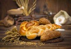 Bröd och bakelse Royaltyfria Foton