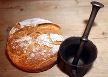 Bröd och mortel Royaltyfri Foto
