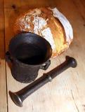 Bröd och mortel Royaltyfria Bilder