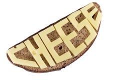 Bröd och ost royaltyfri fotografi