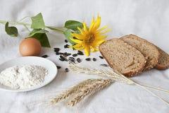 Bröd och produkter Arkivbild