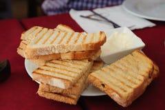 Bröd- och vitlökmayonnaisesås Royaltyfria Bilder