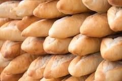 Bröd på den lokala marknaden Luang Prabang arkivfoto