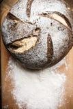 Bröd på tabellen Royaltyfria Bilder