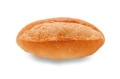Bröd på vit med den snabba banan Arkivfoton