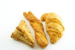 Bröd på white Royaltyfri Bild