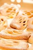 bröd pudrad sockersötsak Royaltyfri Foto