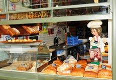 Bröd shoppar Arkivbilder