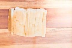 bröd skivad white Fotografering för Bildbyråer