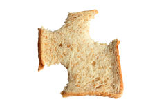 bröd skivade wholewheat Royaltyfria Bilder
