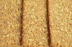 bröd skivar tre Royaltyfria Bilder