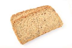 bröd skivar två Arkivbilder