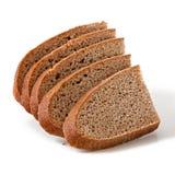 bröd skivar wholemeal Arkivfoto