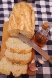 bröd släntrar olja Arkivfoto