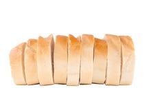 bröd släntrar skivad white Royaltyfri Bild