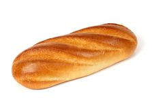 bröd släntrar white royaltyfria foton