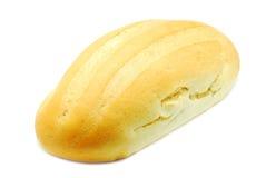 Bröd som isoleras på vit Royaltyfri Fotografi