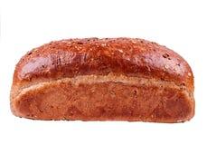 Bröd som isoleras på vit bakgrund Arkivbilder