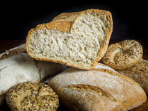 bröd som jag älskar Arkivfoton