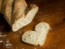 bröd som jag älskar Royaltyfri Bild