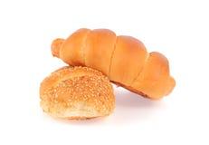 bröd två Royaltyfri Fotografi