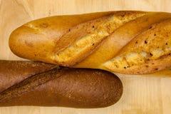 bröd två Royaltyfria Foton